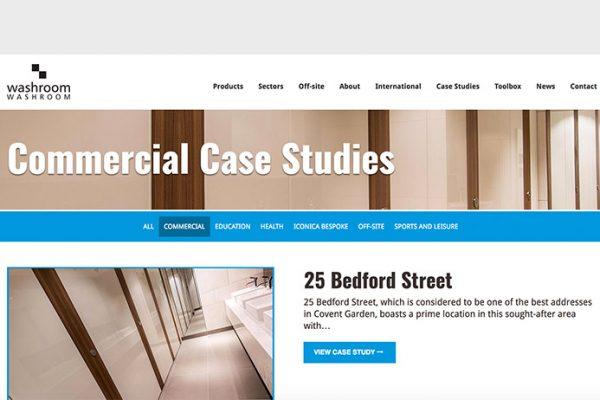 Washroom commercial case studies