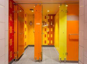 Luminoso glass shower cubicles