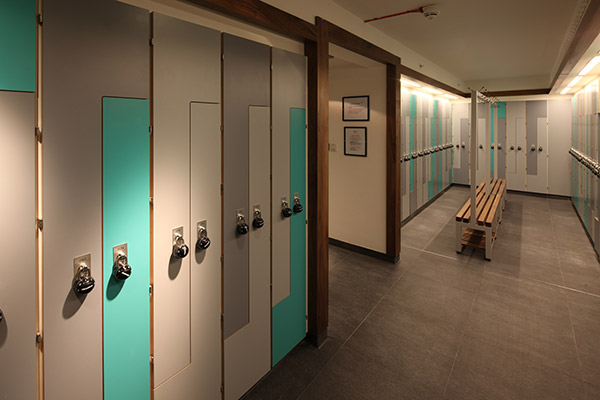 Bespoke lockers