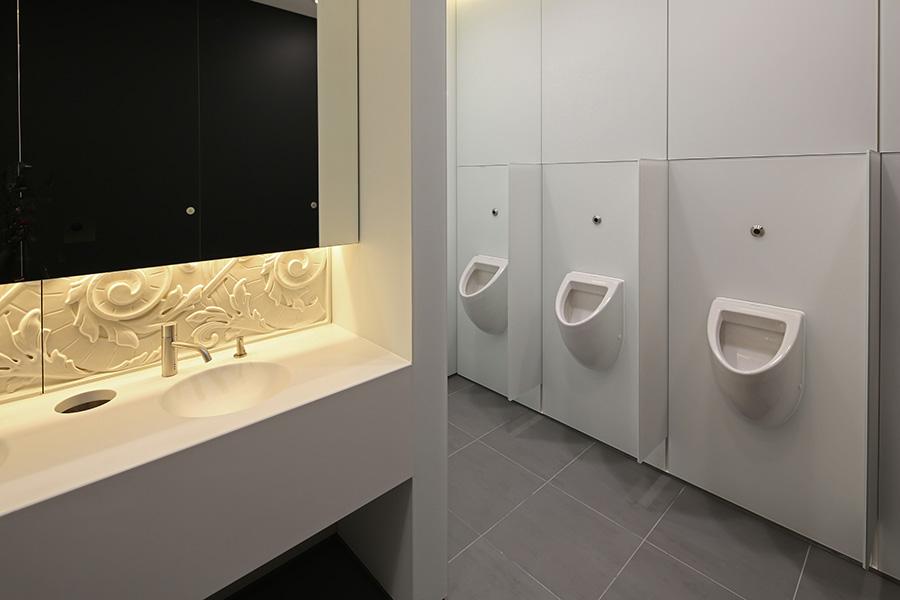Washroom Washroom Glass Ducting