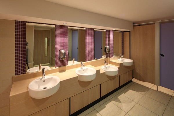 High Pressure Laminate vanities