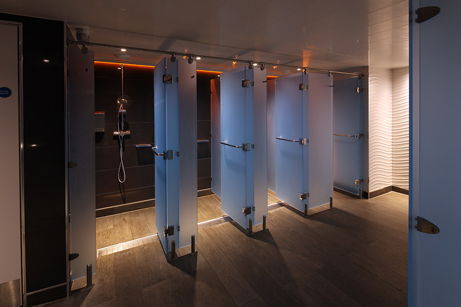 Luminoso Acrylic Shower Cubicles Washroom Washroom
