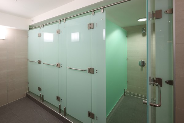 Luminoso Glass shower cubicle