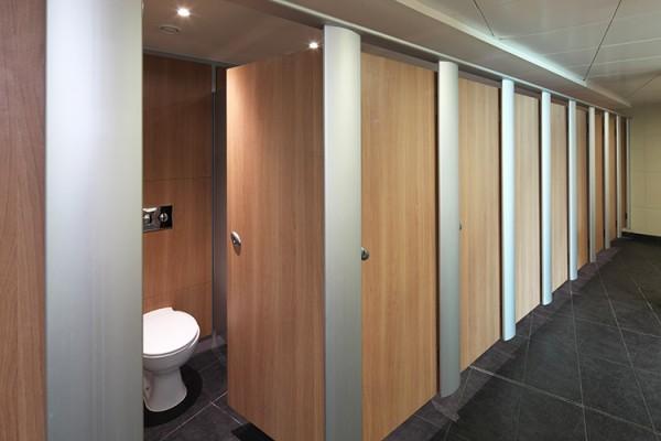 Mezzo toilet cubicle