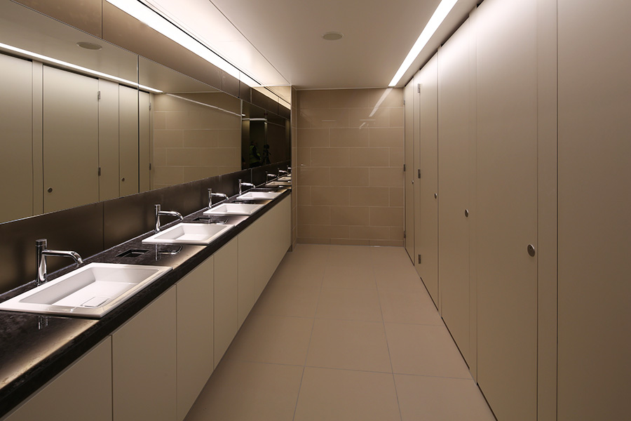 Washroom Washroom Case Study 60 Victoria Embankment London
