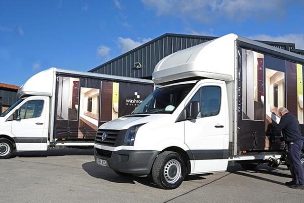 Washroom Washroom fuel efficient delivery vans