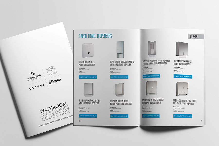 Washroom accessories brochure