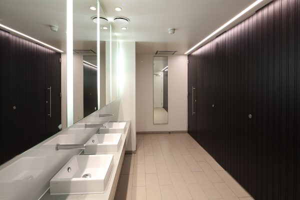 High specification washrooms and disabled facilities - Chancery Lane