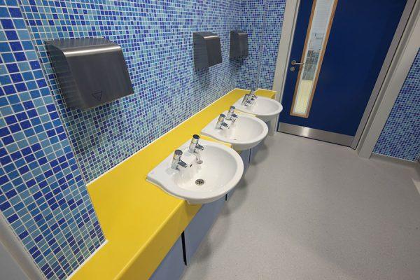 Arpeggio vanity units - Tidemill School
