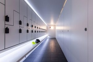 214 Grays Inn - Forza Lockers and Marcato toilet and shower cubicles