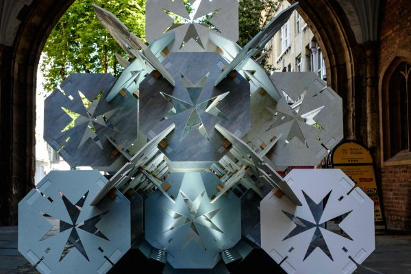 'Order' exhibit by Aldworth James & Bond constructed entirely out of solid surface Corian
