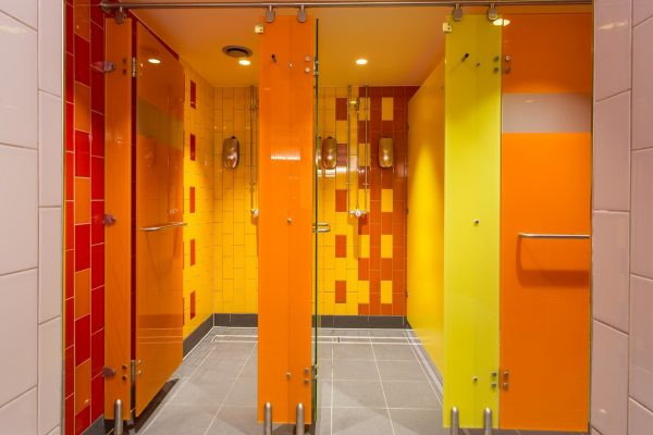 Luminoso glass shower cubicles