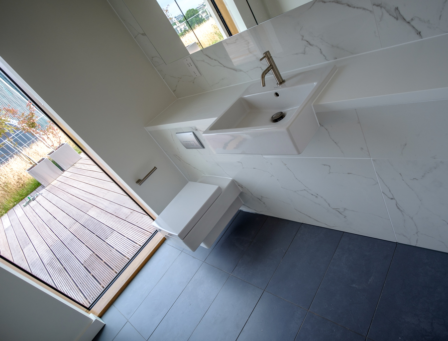 Parnell House residential bathroom fit out