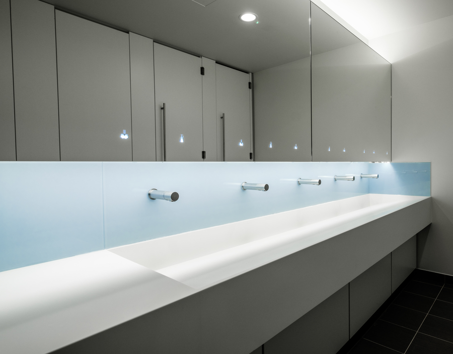 Getting To The Core With Corian News Washroom Washroom
