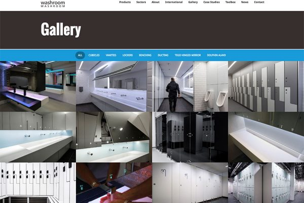 Washroom gallery page