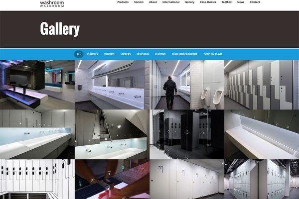 Washroom gallery page
