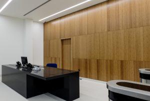 Bamboo reception area