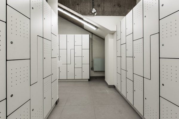 international house lockers