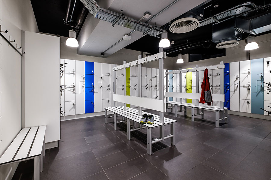 Devonshire Square Forza lockers