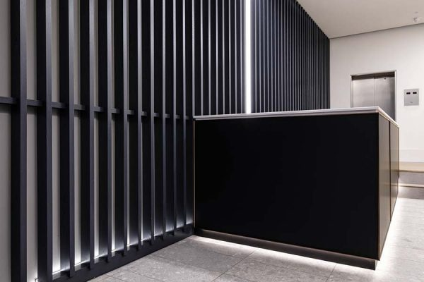 Feature wall panelling for CapCo