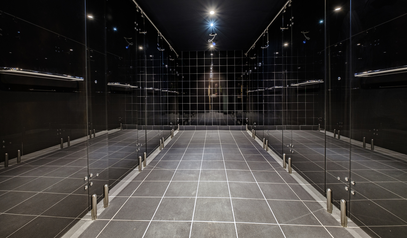 Gymbox Ealing luminoso glass showers