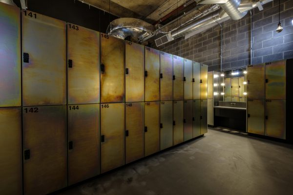 Gymbox Ealing bespoke lockers
