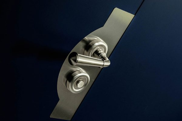 Architectural door handles - Park House, London
